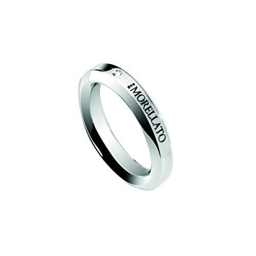 Morellato Anello da donna Collezione Dandy acciaio e diamanti naturali selezionati SPL01014