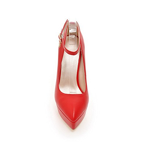 Red Scarpe 1TO9 donna tacco col Aw6xR