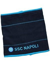 Scaldacollo uomo NAPOLI - ENZO CASTELLANO sciarpa blu tubolare in pile f9a3fffb3469