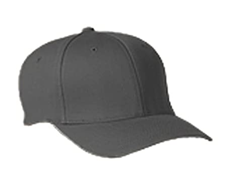 6277 Flexfit Wooly Combed Twill Cap - Large/XLarge (Dark Gray) (US)