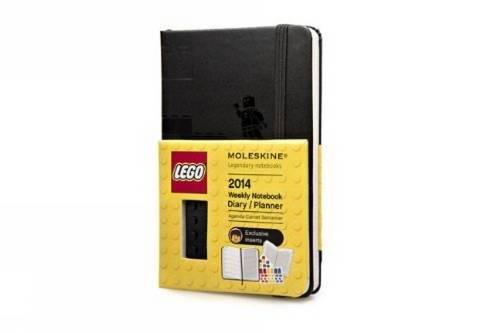 Moleskine 2014 Agenda 12 Mesi Lego,Nero