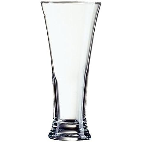 Nextday Catering S055Pilsner vetro, 285ml/10oz, 0,5Pinta, marchio CE, altezza 150mm