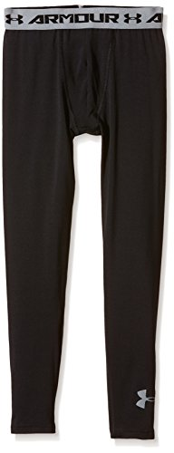 Heatgear Compression Legging Fit (Under Armour Jungen Fitness - Hose und Shorts Leggings, Black, XL)