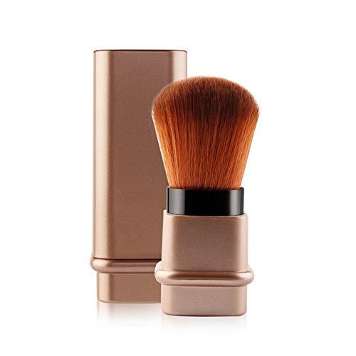 FGJPO Pinceaux À Maquillage Protable 1Pcs Brosse Télescopique Cosmétique Visage Fard À Joues Réglable Poudre Fondation Blush Pinceau pour Voyage