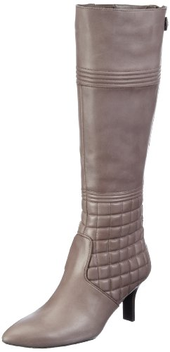 Rockport Lianna Quilted Tall Boot K71842, Stivali donna Grigio (Grau (Cinder))