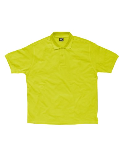SG Damen-Polycotton Polo Shirt Grün - Lime
