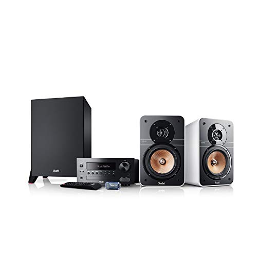 Teufel Ultima 20 Kombo Power Edition Weiß Stereo Lautsprecher Musik Sound Hochtöner Mitteltöner Bass Speaker High End HiFi Tieftöner Schalldruck