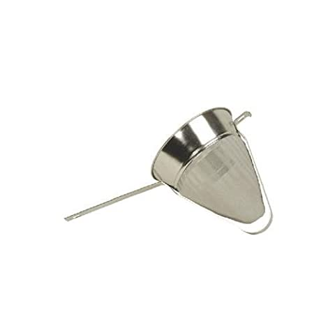 Thunder Group Reinforced Fine Mesh China Cap Strainer, 10-Inch by food service warehouse