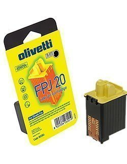 Patrone von Olivetti für Olivetti FPJ20 (black) Druckerpatrone für FPJ-20 (Black Inkjet-cartridge 20 Original)