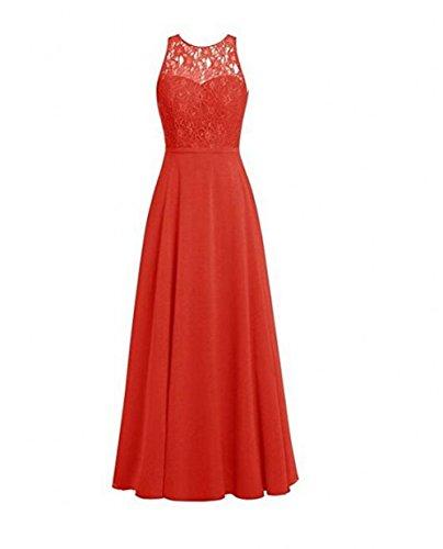 Leader of the Beauty Damen Kleid Rot