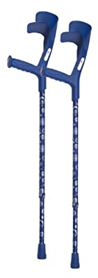 Switch Sticks European Crutches with Ocean Design (Set of 2)