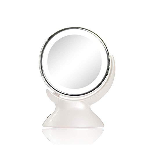 LED Kosmetikspiegel Schreibtischlampe Spiegel Europäischen doppelseitigen Kosmetikspiegel Hochzeit Prinzessin Spiegel Gürtel Tabletop Spiegel