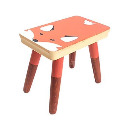 YCDJCS Taburete de comedor de madera Tabla heces heces plaza pequeña cama...