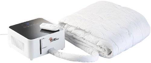 newgen medicals Bettheizung: Wärmende Matratzenauflage, 150 x 175 cm (Kühldecke Bett) -