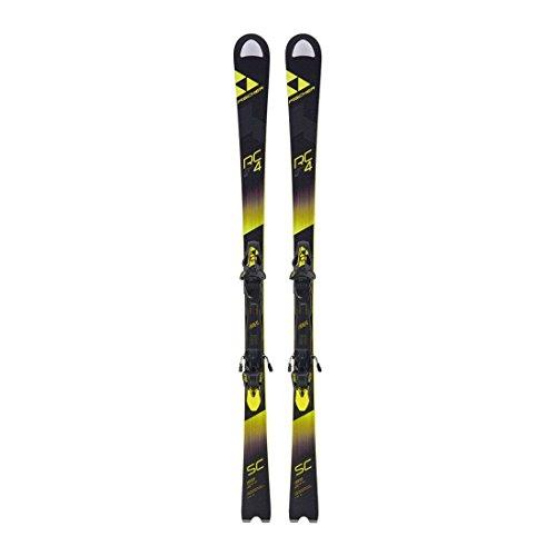 Fischer Skier RC4 World Cup SC Yellow Base inkl. Bindung RC4 Z12 schwarz (200) 165