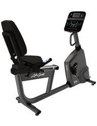 Life Fitness Liegeergometer RS1 mit Track Connect Konsole inkl. Bodenschutzmatte und Pulsbrustgurt