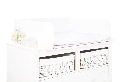 Pinolino 69100-0 - Absturzsicherung für Wickelkommoden, Uni weiß