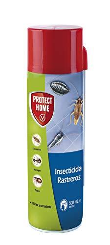 Protect Home Insecticida Blattanex, Uso doméstico de acción inmediata contra cucarachas, Hormigas e Insectos Rastreros, Verde agua 6.5x6.3x24 cm