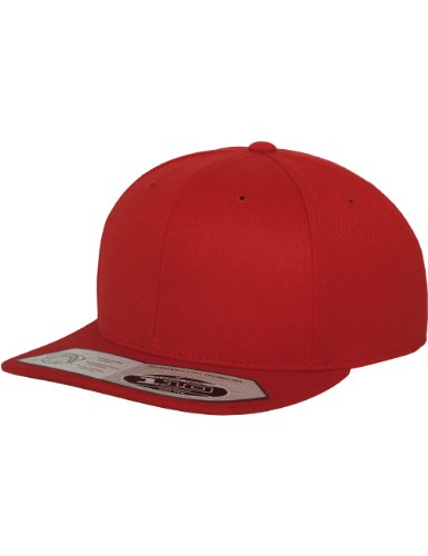 Flexfit 110 Fitted Snapback, Farbe Red (Red Shirt Kap)