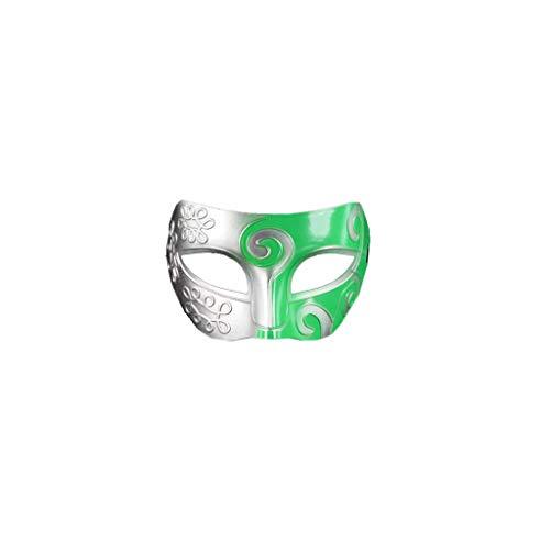 Halloween Dress up Requisiten Männer und Frauen Half Face Erwachsene Weibliche Maske Maskerade Party Jazz Retro Kreative Maske antiken Griechischen römischen Gladiator
