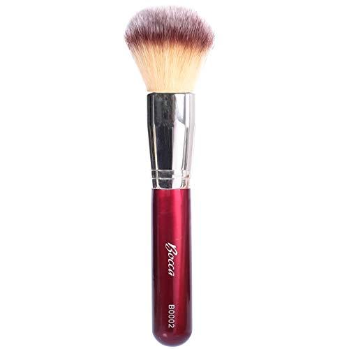 Bocca Make Up Gesichtspuderpinsel   Extra-Weich & Synthetisch   Kompakt & Perfekt zum Auftragen von losem, Press-, Bronzing- und Mineralpuder