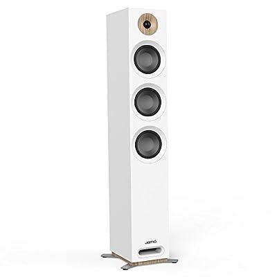 Jamo S 809 240W Blanc Haut-Parleur - Hauts-parleurs (avec Fil, 240 W, 37-26000 Hz, 8 Ohm, Blanc) par Jamo