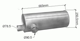 ets-exhaust-8018-silencieux-pour-45-hp-leyland-daf-45-road-runner-hp