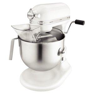 Kitchenaid 5KSM7591XBWH Heavy Duty Mixer, 1.3HP, 6.9 L Bowl, White