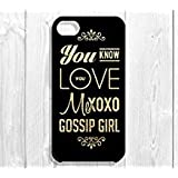 103 Designs Gossip Girl Quote iPhone Case - 'You Know You Love Me, XOXO Gossip Girl' (iPhone 5/5S)