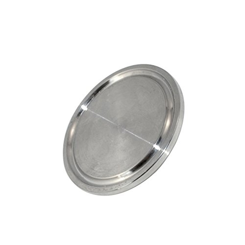 ¦Õ38 1.5'' SS 316 Sanitary End Cap fits 1.5' Tri Clamp Ferrule Flange 50.5MM NEW