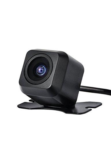 Caméra De Recul Voiture CARCHET Étanche Vision Nocturne Angle 170 °, IR Capteur, Couleur CMOS Importé, Résolution 420TVL, En ABS DC 12V Noir