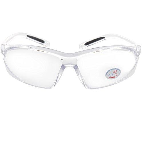 Oramics Schutzbrille Labor-brille UV-Schutz Über-Brille bruchfest, transparente Schutzbrille