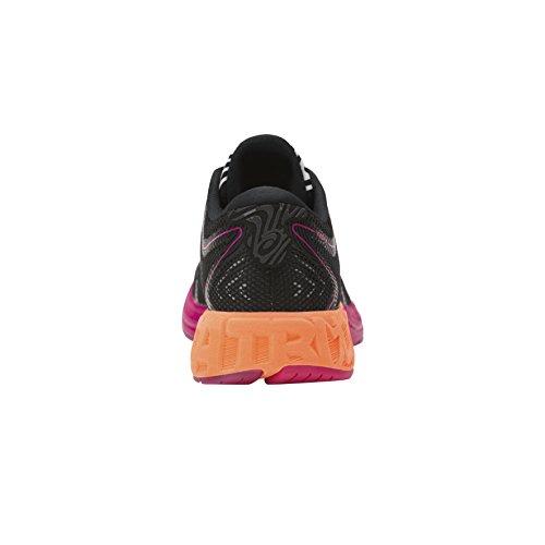 black Asics pink Damen Noosa hot Schwarz Gymnastikschuhe Orange Peacock Ff qXqa8r