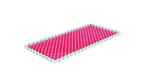 e rechteckig 35 x 16,5 cm rot ()