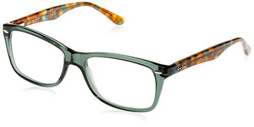 Ray-Ban Damen Brillengestelle 5228, Schwarz (Negro), 53 (Rx Ray-ban Wayfarer)