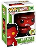Funko Pop! SDCC 2013 Exclusive - Vinyl Bobble Figure - RED HULK (Metallic - 4.5 inch) by FunKo