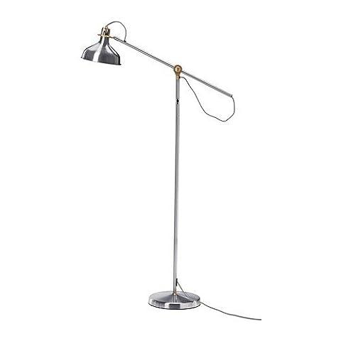 IKEA RANARP - Stand- / Leseleuchte, vernickelt