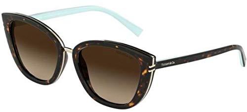 Tiffany Sonnenbrillen T TF 4152 Dark Havana/Brown Shaded Damenbrillen