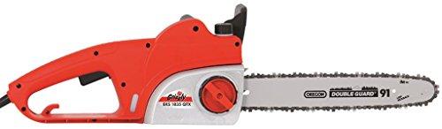 Grizzly Elektro Kettensäge EKS 1835 2 QTX Motorsäge 1800 W elektrische Säge für EIN problemloses Sägen von Bäumen und Ästen