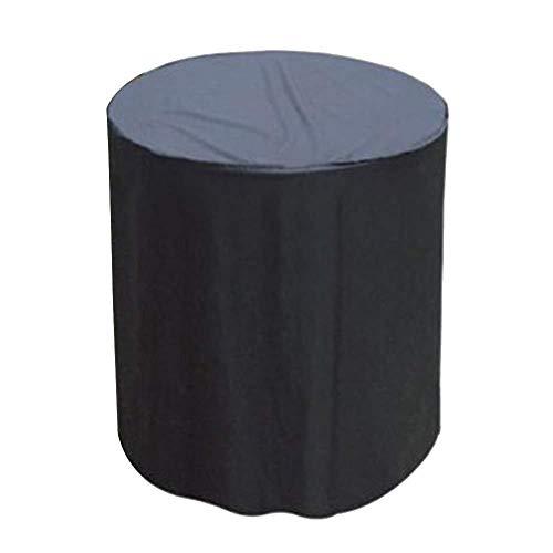 Coperture per mobili da giardino copertura per griglia a gas per barbecue cubo di copertura impermeabile per esterni resistente copertura per mobili nera,58x77cm