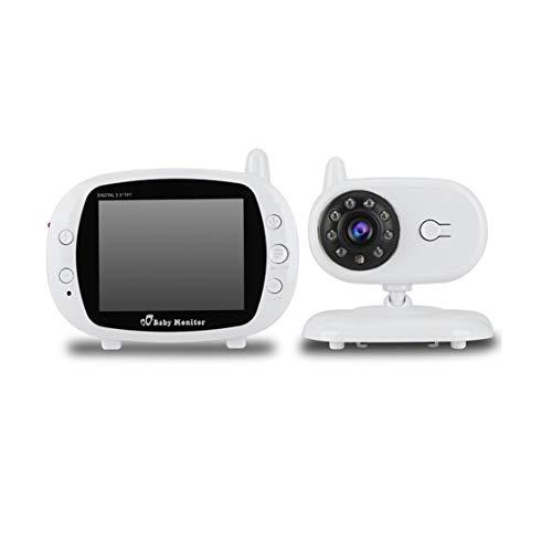 Candybarbar 3,5-Zoll-LCD-Bildschirm 2,4-G-Digitalvideo Wireless-Sprachsteuerung Nachtsicht-Überwachungskamera-Viewer 2-Wege-Talk-Babyphone Pixel-10 Einheiten