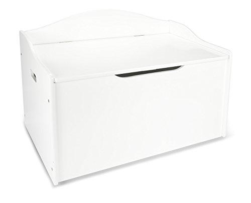 Leomark contenitore porta giochi xl in legno cesta per giochi scatola portagiochi panca contenitore stoccaggio mobili e arredamento cassapanca per bambini portaoggetti organizer oggetti versatile bianco