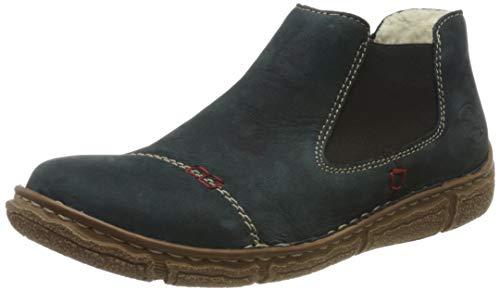 Rieker Damen L6090 Chelsea Boots, Blau (pazifik / 14 14), 38 EU