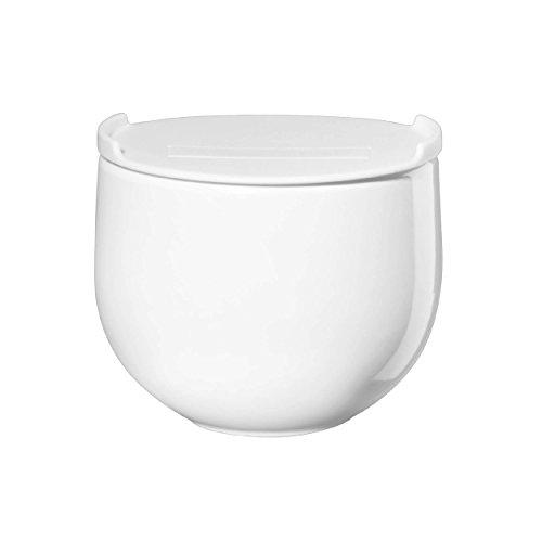 Asa Selection Multicup Soupe Tasse avec Soucoupe Cuillère Porcelaine Blanc 400 ml
