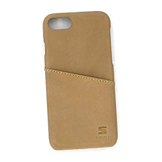 Seat 6H1087313HAL Mobiltelefontasche Case Cover iPhone 6/6s/7 Hülle Schutzhülle Smartphone, karamell