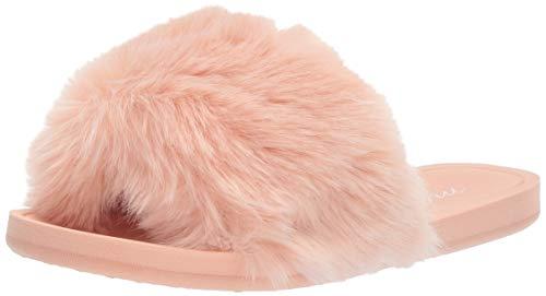Mae pilot women's casual one-strap pantofole, rosa (blush blh), 42 eu