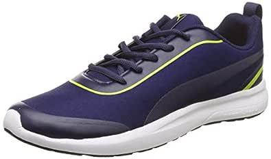 Puma Men's Peacoat-Limepunch Sneakers-7 UK/India (40.5 EU) (4060978174130)