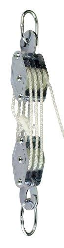 Connex Flaschenzug Hubhöhe 2,20 m, verzinkt 180 kg, DY270865