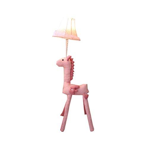 Floor Stand Lights - Kinder Lampe für Mädchen, Colt Lampe Cute Stehleuchte 48-Zoll-dekoratives Licht mit Stoff-Farbton für Kinderzimmer Schlafzimmer Wohnzimmer - Design Fixture Lighting