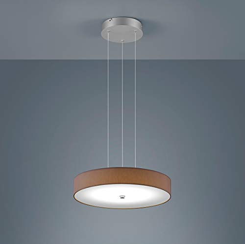 Helestra LED Pendelleuchte Bora Mocca | LEDs fest verbaut 30W 3300lm warmweiß | 16/1745.19/9259